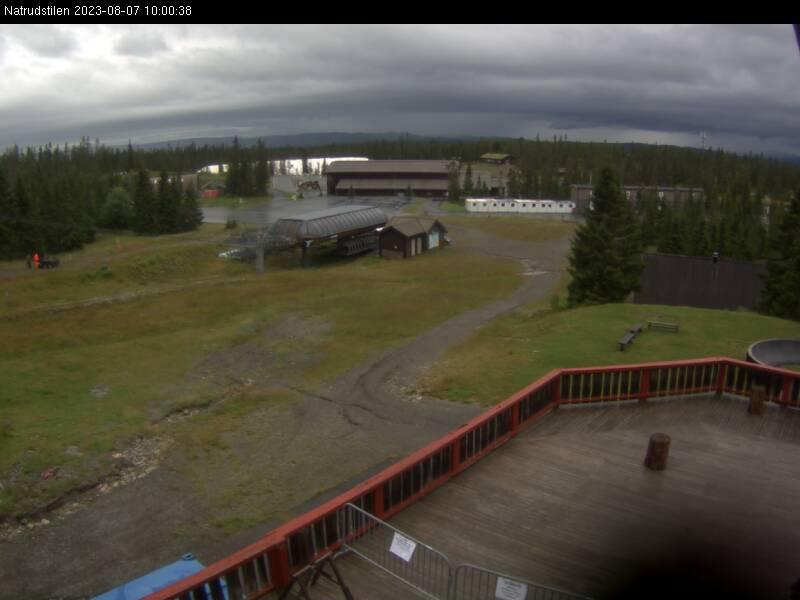 Webcam Sjusjøen skisenter, Ringsaker, Hedmark, Norwegen